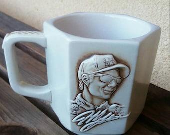 Nascar Mug, NASCAR Anniversary Mug, 50th NASCAR Anniversary, Jeff Gordon Mug, Racing Mug, Race Car Mug, NASCAR Memorabilia, Race car Cup