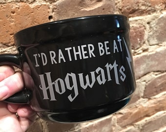 Hogwarts Coffee Mug, Harry Potter, Potter Fans