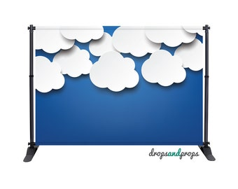 Baby Clouds - Photography Backdrop