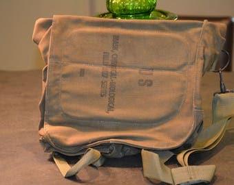 Military Shoulder Bag or Tote, Vintage