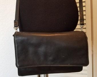 Clearance...Derek Alexander Leather Crossbody or Clutch Handbag
