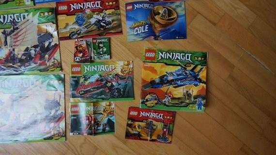 lego ninjago instructions 70723