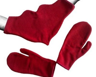 Love Gloves Valentines day gift Romantic for two Girlfriends Heart gloves for couples
