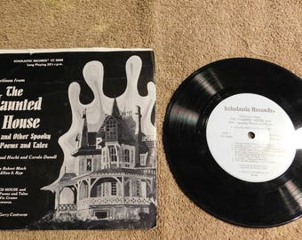 The Haunted House 33 1/3 RPM Record