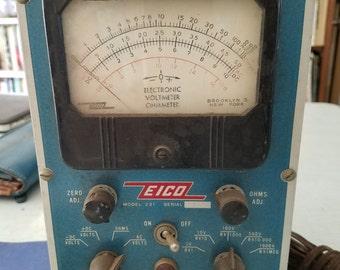 Eico Electronic Volt/Ohm meter 1963