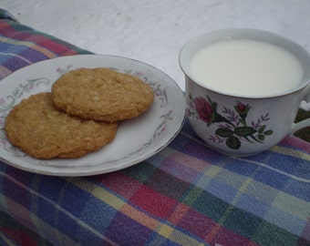 Coconut cookies gluten free dessert table cookie tray sweet snack homemade chewy soft