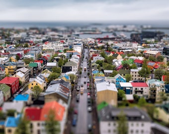 "Fine Art Photography, Landscape Photography, Wall Art, Landscape Print, Iceland - ""Reykjavik"""