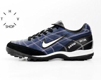 NOS Vintage Nike Air Zoom Brasilia Turf sneakers / Soccer Football shoes / Swoosh Athletic Sports trainers kicks / 90s