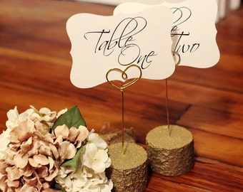 table number holders etsy