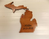 Wooden State Cutouts, Mic...