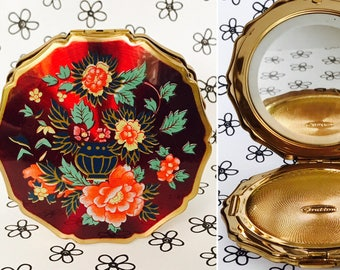 60s Stratton Mirror Compact : English Compact
