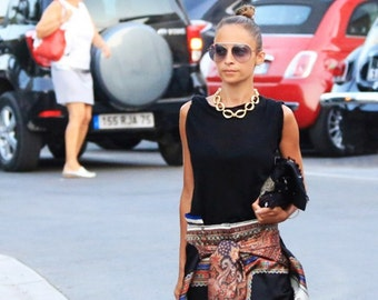 Chanel Chain Link Choker Necklace as seen on Nicole Richie