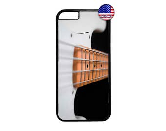 Bass Guitar Rock Strings New Case Cover for iPhone 4 4s 5 5s  5C 6 6s 6 Plus 7 7 Plus iPod Touch 4 5 6 case Cover