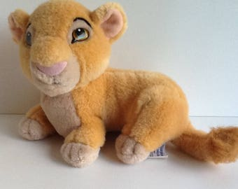 Vintage  Disney LION KING Plush