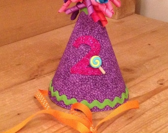 Candy Shop Birthday Party Hat