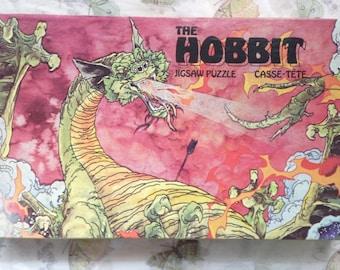 Vintage 1977 The Hobbit (Smaug) Jigsaw Puzzle