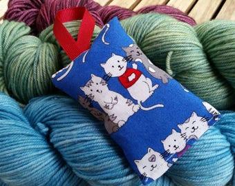 Cats Lavender Sachet Handmade