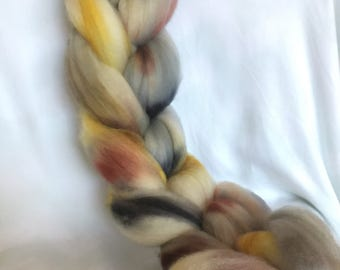 OOAK superwash merino roving