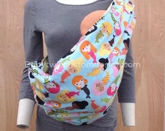 Sling Baby Carrier- Mermaids