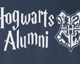 Hogwarts Alumni Hoodie or Crewneck Sweater - Harry Potter Inspired Varsity Clothing Gryffindor Slytherin Hufflepuff Ravenclaw Men Women Kids
