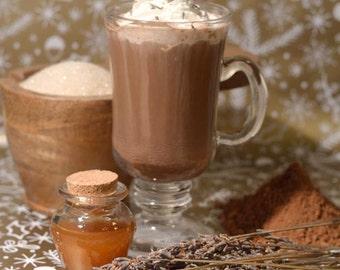 Honey Lavender Gourmet Hot Chocolate - Cocoa Mix - Organic