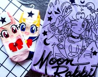 Cool Moon Rabbit Shirt