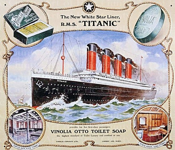 The Titanic Birthday - Edible Cake and Cupcake Topper For Birthday's and Parties! - D21938