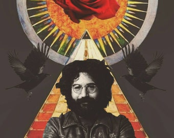 Jerry Garcia Print
