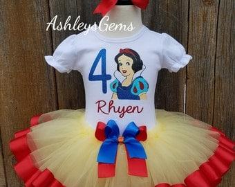 Snow White Costume, Snow White Dress, Snow White Tutu, Snow White Party, Snow White Birthday Outfit, Snow White Newborn, Snow White Toddler