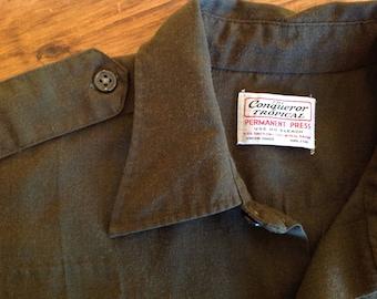 Vintage U.S.  Border Patrol uniform shirt 44 inch chest