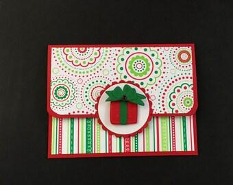 Christmas Gift Card Holder - Greeting Card