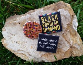 Pro Black Pin Set