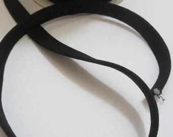 Piping 8 mm - black
