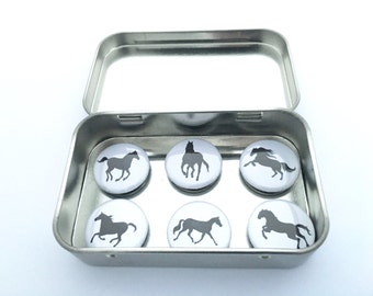 Horse Magnet Set, gifts for equestrians and horse lovers