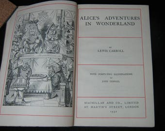 Alice's Adventures in Wonderland Lewis Carroll