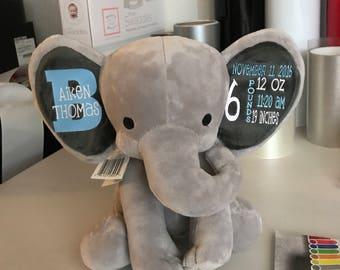 Birth stats elephant or girl monkey