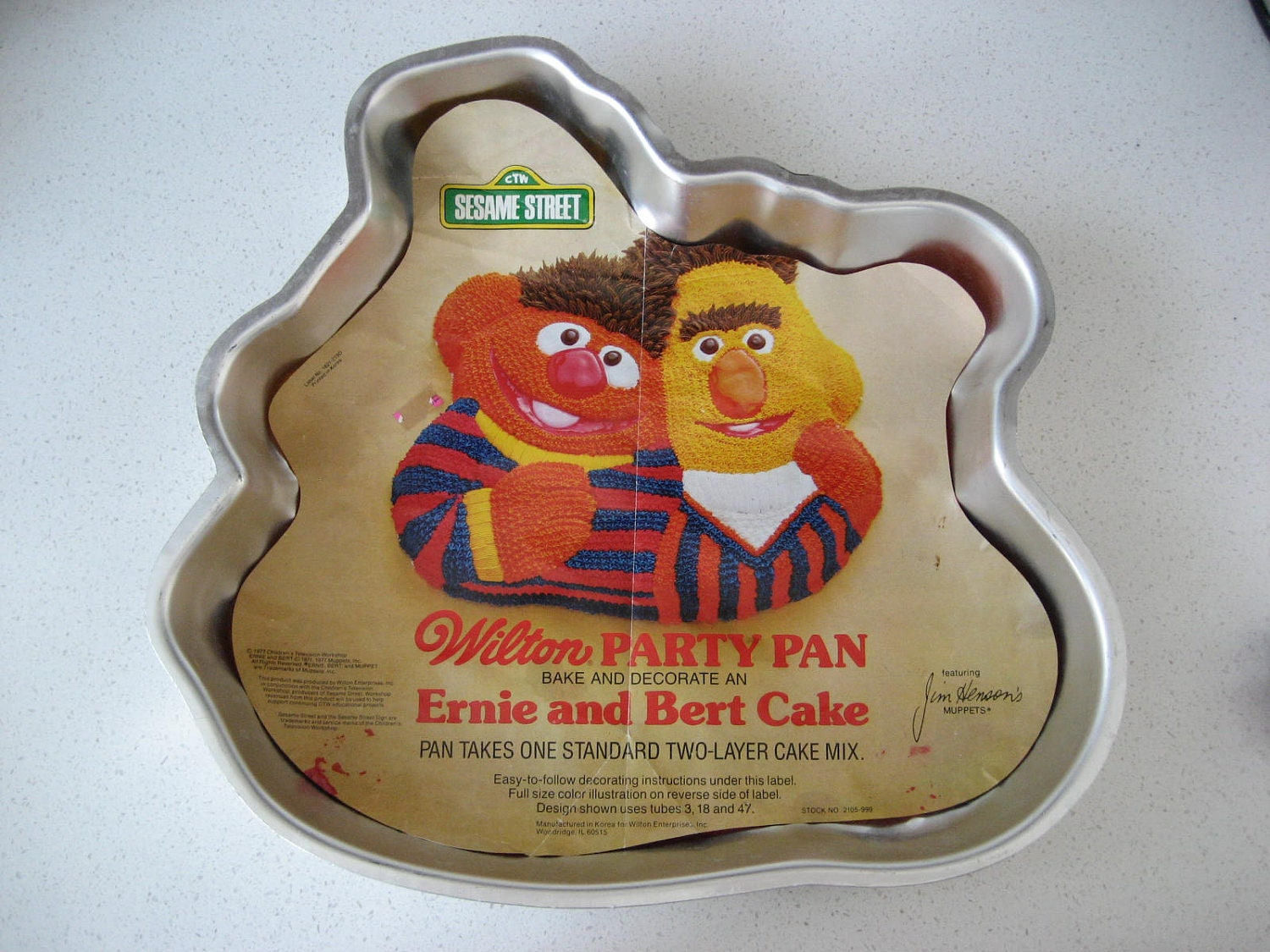 Bert And Ernie Cake Pan