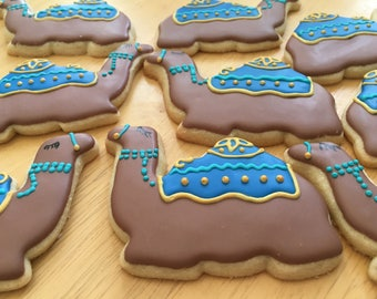 Camel Sugar Cookies