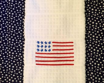 4th of July Hand Towel