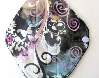 RTS Beautiful Butterfly Regular Flow Moderate Flow Pad Handmade Cloth Mama Pad