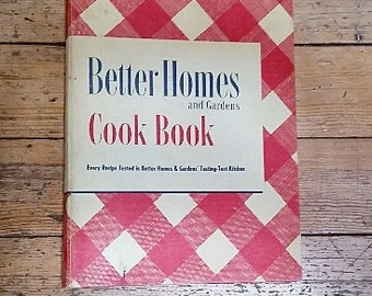 Better Homes and Garden Cookbook, 1949 Edition