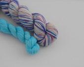 LOVE SOCK self-striping, 006, merino nylon sock yarn,100g