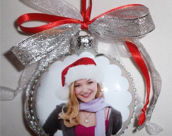 Dove Cameron inspired Tribute Christmas Ornament