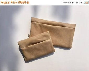 Biege leather wallet,Biege wallet,Large women wallet,Biege leather purse