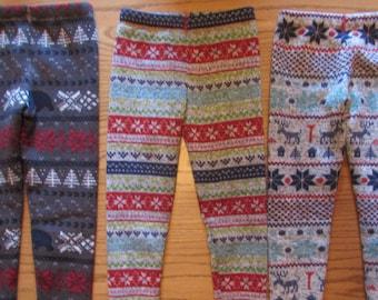 Sweater leggings/girls warm leggings/toddler sweater leggings/toddler warm leggings/junior leggings/junior sweater leggings