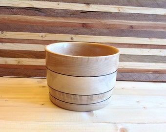 Wood Bowl handcrafted from Maple - 16MB006