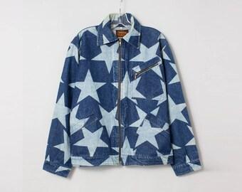 VIVIENNE WESTWOOD vintage star denim jacket M
