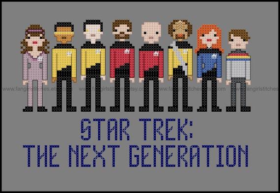 Star Trek Parody The Next Generation Cross Stitch Pdf