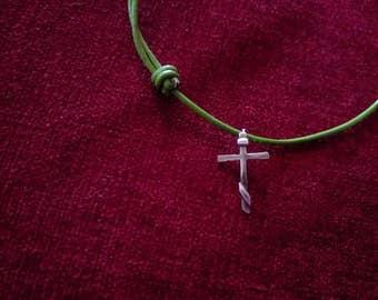 Small, Three Bar Cross