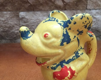 Vintage 1930's Mickey Mouse Creamer Made in Japan****SALE****